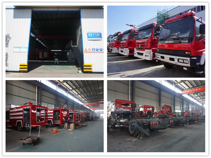 Fire fighting truck manufacture